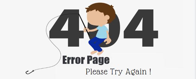 Optimize 404 error pages